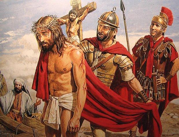 Jesus on Calvary