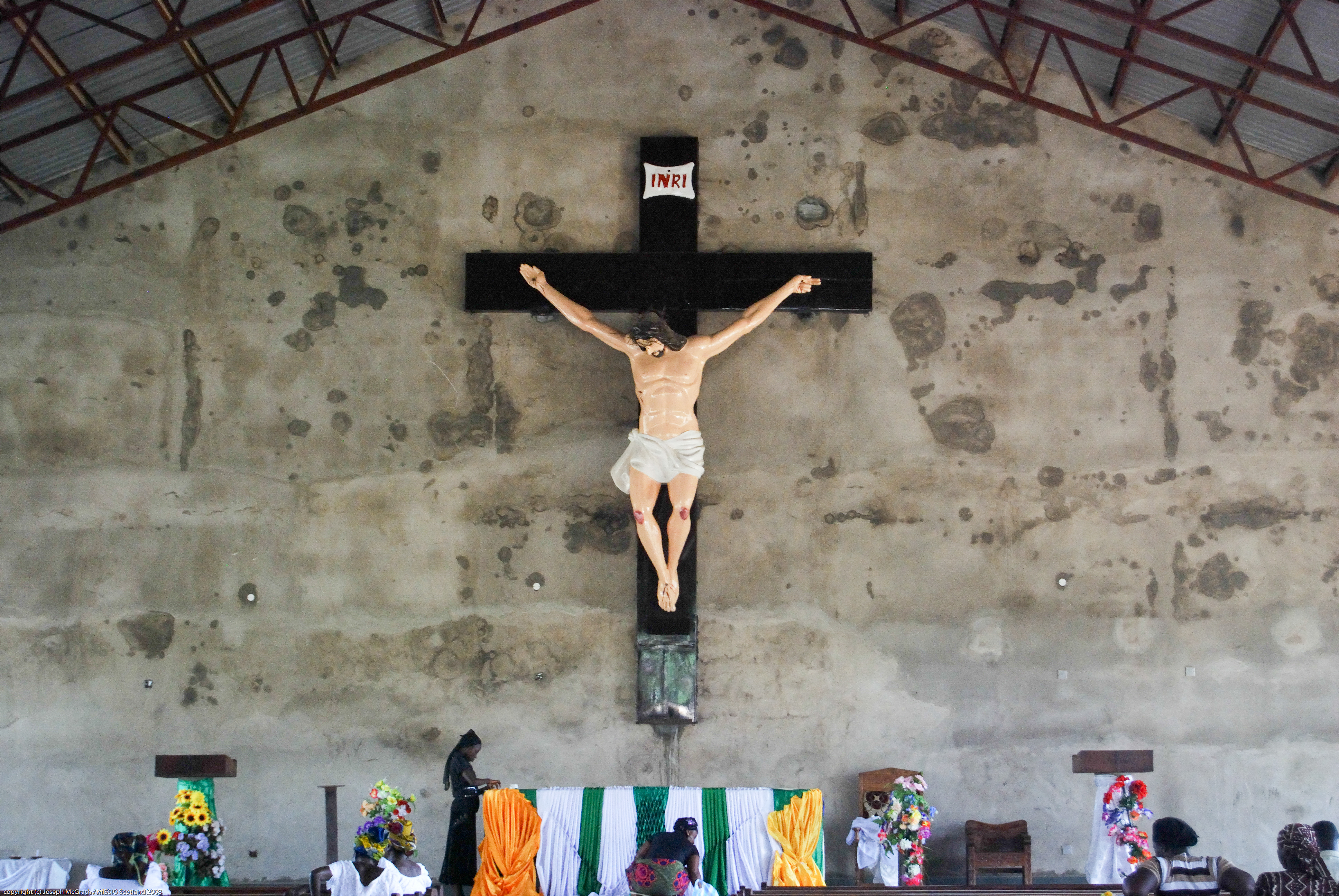Jesus is Nailed to the Cross – Full Text – Window On My World