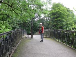 The wee iron bridge.